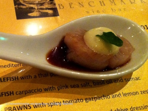 Scallop @ Benchmark Wine Bar - fatmanthinwallet.wordpress.com